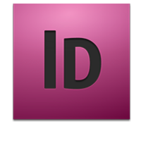 Adobe InDesign Laravel Logo